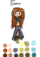 Emma as Megurine