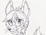 Nyarai the Aardwolf