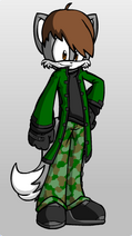 My Mobian Self (Cameron the Wolf)