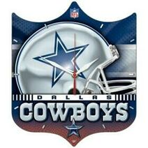 Dallas cowboys hd wall clock lg