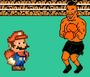 Mario and Mike Tyson