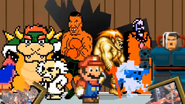 Mario and the goons