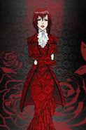 Kuroshitsuji madam red by lonelysadwanderer-d5psxzc