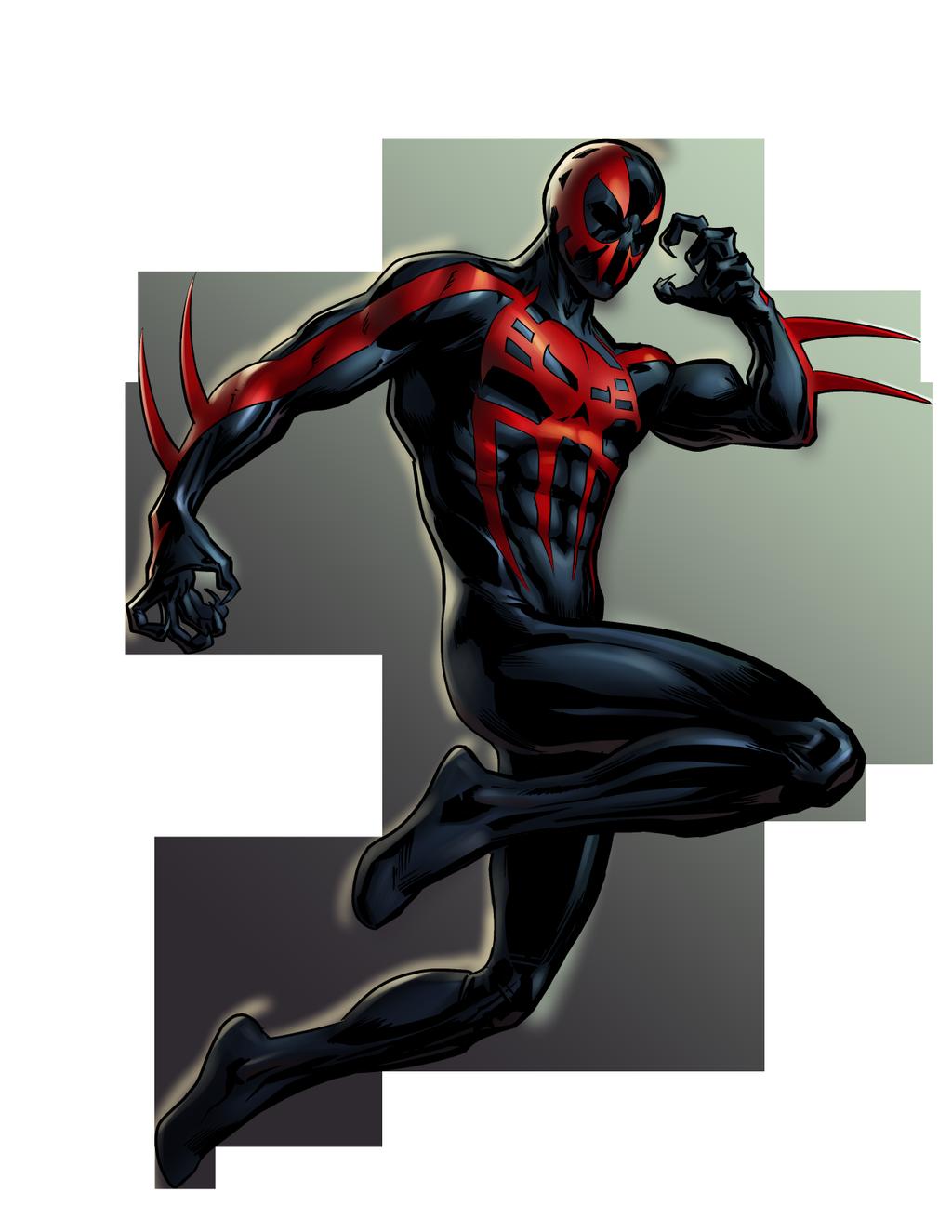 image spider man 2099 portrait art png sonic gt wiki fandom