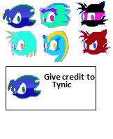 Tynic and splash Icons