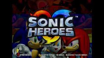 Xbox Debug Kit Gameplay (Sonic Heroes E3 Demo)