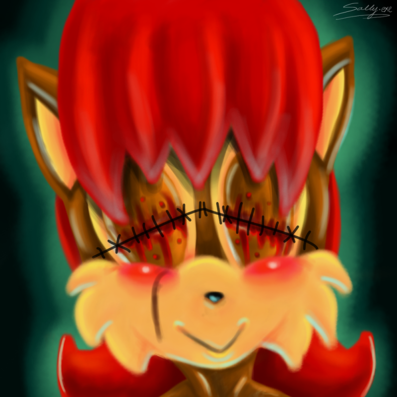 Sallyexe cult of x the sonicexe wiki fandom powered by wikia sallyexe thecheapjerseys Gallery