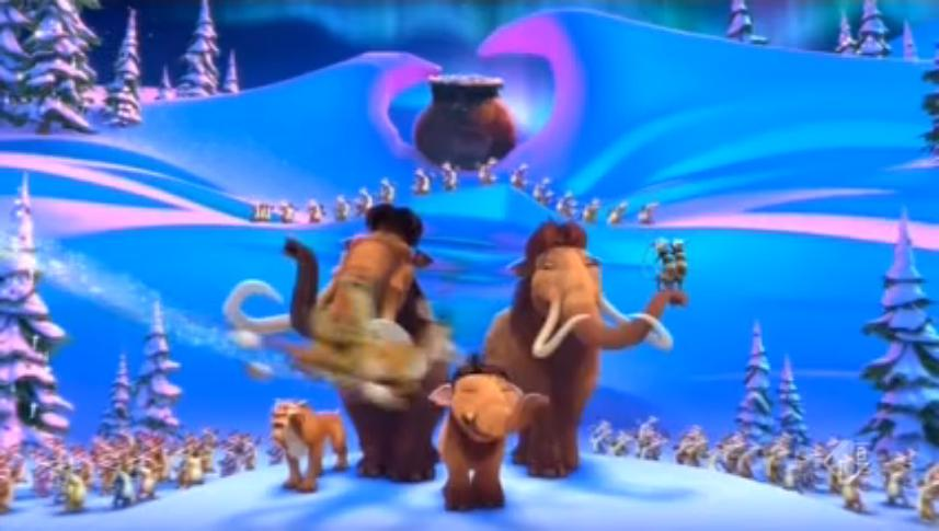sonic storm adventures of ice age a mammoth christmasjpeg - Ice Age Mammoth Christmas