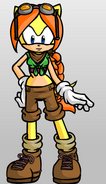Molly's look in Sonic Boom