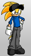 Kendall's look in Sonic Boom