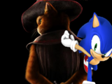 Sonic The Hedgehog Meets Puss in Boots