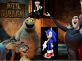 Sonic the Hedgehog goes to Hotel Transylvania