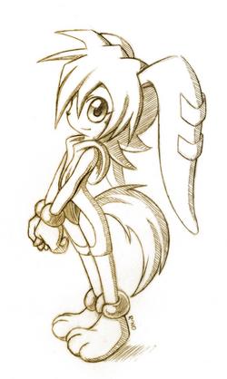 Milla the hound child sketch by r no71 by darkerstrife-d55fkfm