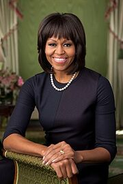 220px-Michelle Obama 2013 official portrait