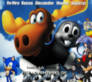 Sonic's Adventures of The Rocky and Bullwinkle Movie