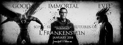 Sonic Storm Adventures of I, Frankenstein poster