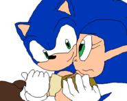 Sonic saving Phyliss