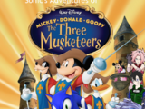 Sonic's Adventures of Mickey, Donald and Goofy: The Three Muskteers