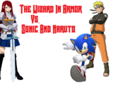 The Wizard in Armor vs. Sonic and Naruto