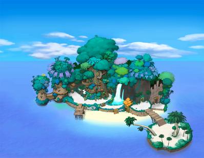 Destiny Islands (Art) KHI