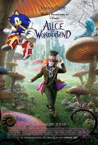 Sonic's Adventures of Alice in Wonderland