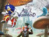 Sonic's Adventures of Tim Burton's Alice in Wonderland