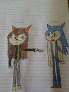 Julie going to kill sonic by cameron33268110-da2zl4j