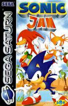 Sonic Jam - Boxart EUR