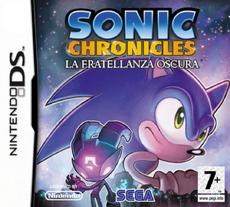 Sonic Chronicles La Fratellanza Oscura - Boxart Ita