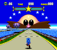 Fase Speciale Extra Screenshot - Sonic CD