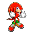 Knuckles Artwork - Sonic Chronicles La Fratellanza Oscura