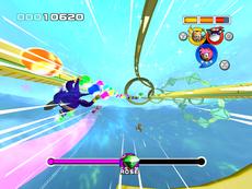 Sfida Emerald Screenshot - Sonic Heroes
