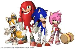 Personaggi1 Concept - Sonic Boom