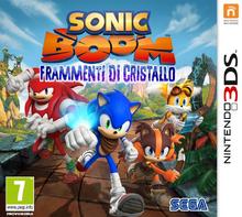 Sonic Boom Frammenti di Cristallo - Boxart ITA
