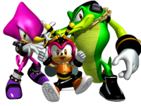 Team Chaotix Artwork - Sonic Heroes