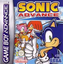Sonic Advance - Boxart Eur