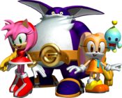 Team Rose Artwork - Sonic Heroes