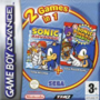 Sonic Advance Sonic Pinball Party 2 games in 1 - Boxart EUR