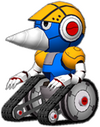 Burrobot Artwork - Sonic the Hedgehog 4 Episode I
