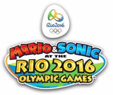 Mario & Sonic ai Giochi Olimpici di Rio 2016 - Logo ENG