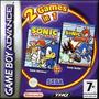 Sonic Advance Sonic Battle 2 games in 1 - Boxart EUR