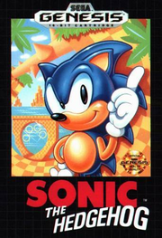 Sonic the Hedgehog (16-bit) - Boxart USA
