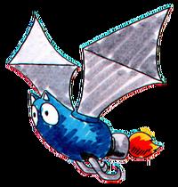 Bat Brain Artwork - Sonic the Hedgehog (16-bit)