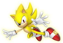 Super Sonic Artwork - Sonic Lost World