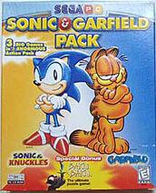 Sonic & Garfield Pack - Boxart
