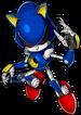 Metal Sonic Adesivo - Super Smash Bros. Brawl