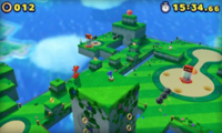 Tropical Coast Zona 2 Screenshot - Sonic Lost World 3DS