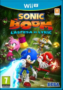 Sonic Boom L'Ascesa di Lyric - Boxart ITA
