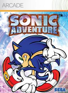 Sonic Adventure (XBox Live Arcade) - Boxart