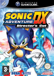 Sonic Adventure DX (GameCube) - Boxart EUR